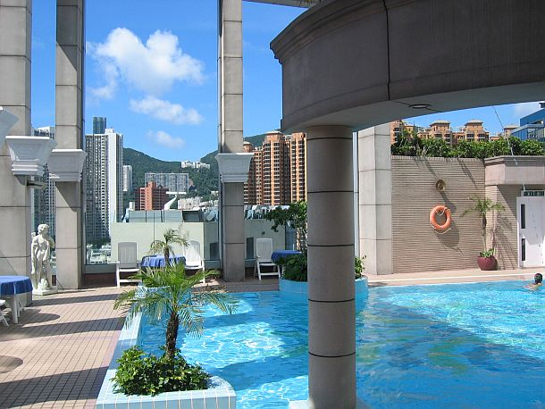 Regal Hotel Roof Top Pool
