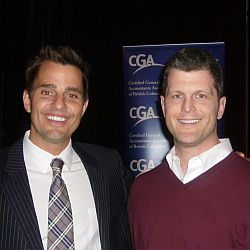 bill rancic and brooks van norman