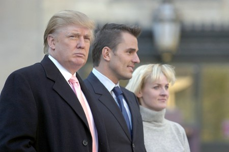 donald trump, bill rancic and carolyn
